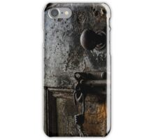 Knock First ... iPhone Case/Skin