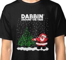 Cute Funny Dabbin' Around the Tree Classic T-Shirt