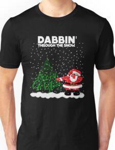 Cute Funny Dabbin' Through the Snow Unisex T-Shirt