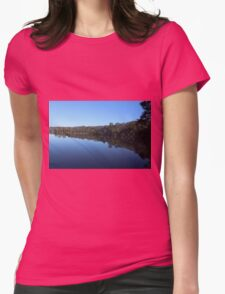 Morning Reflections Womens Fitted T-Shirt