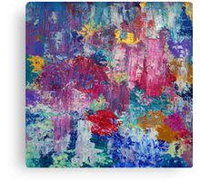 Absract colored painting 3 Canvas Print
