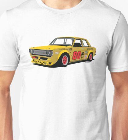 1969 Datsun 510 Racer Unisex T-Shirt
