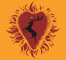 Stannis Baratheon Sigil - Firey Heart [UPDATE 2] by EvaEV