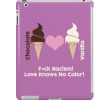 F*ck Racism, Love Knows No Color. iPad Case/Skin