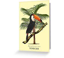 Toucan Tropics Greeting Card