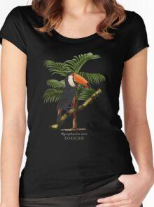 Toucan Tropics Women's Fitted Scoop T-Shirt