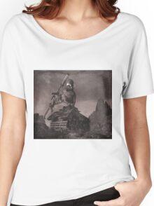 Robot Tank World War 1.5 Women's Relaxed Fit T-Shirt