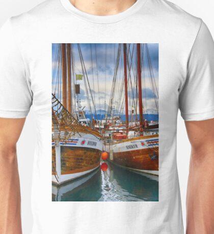 Schooners Hildur and Hauker Unisex T-Shirt