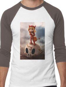 Wickedly Drawn Men's Baseball ¾ T-Shirt
