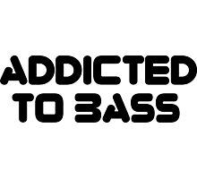 Addicted To Bass Photographic Print