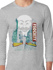City Mr. Robot Long Sleeve T-Shirt