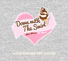 Down With The Swirl. Unisex T-Shirt