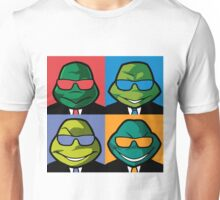 Turtles in Black - Coloured Unisex T-Shirt