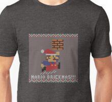 Mario Brickmas!!! Unisex T-Shirt