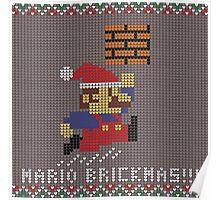 Mario Brickmas!!! Poster