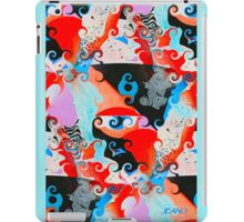 SQUIGGLY GRAPHIC iPad Case/Skin