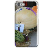 That Is One Big Pumpkin iPhone Case/Skin