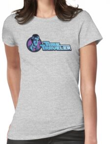 Time Travelers, Series 3 - Dr. Sam Beckett Womens Fitted T-Shirt
