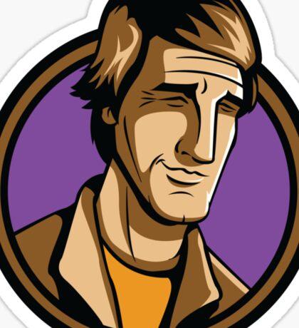 Time Travelers, Series 3 - Dr. Sam Beckett (Alternate) Sticker