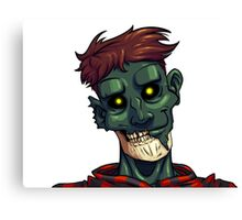 Face of The Undead Canvas Print