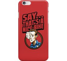 Time Travelers, Series 3 - T-1000 (Alternate 2) iPhone Case/Skin