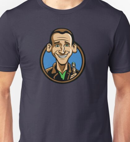 Time Travelers, Series 3 - The Ninth Doctor (Alternate) Unisex T-Shirt
