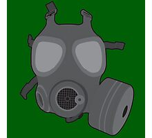 Army Gas Mask  Photographic Print