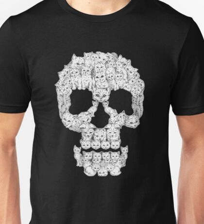 Skulls-Are For-Pussies Unisex T-Shirt