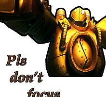 Blitzcrank - Pls don't focus me by Bells94