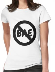 NO BAE Womens Fitted T-Shirt