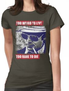 Gonzo Hunter S Thompson Womens Fitted T-Shirt