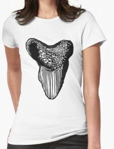 Shark tooth linocut T-Shirt