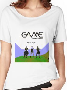 Perfume Game NES Start Screen Women's Relaxed Fit T-Shirt