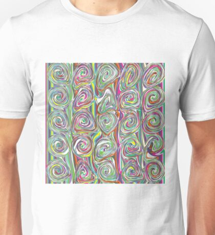 Marbled pattern Unisex T-Shirt