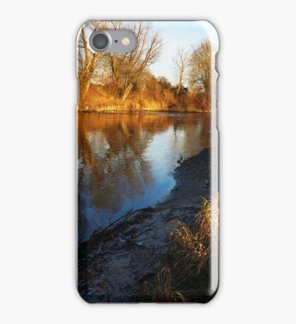 flaming shore II iPhone Case/Skin