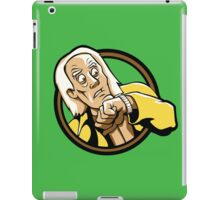 Time Travelers, Series 1 - Doc Brown (Alternate) iPad Case/Skin