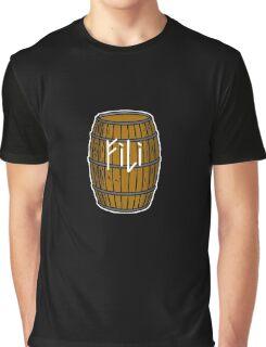 Fili in barrel Graphic T-Shirt