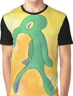 High Res Bold and Brash Repaint Graphic T-Shirt