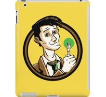 Time Travelers, Series 1 - The 10th Doctor (Alternate) iPad Case/Skin