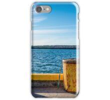 Fishermans Cove, Nova Scotia iPhone Case/Skin