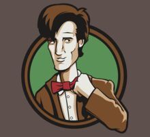 Time Travelers, Series 2 - The 11th Doctor (Alternate) Baby Tee
