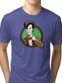 Time Travelers, Series 2 - The 11th Doctor (Alternate) Tri-blend T-Shirt