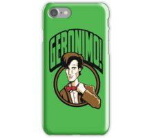 Time Travelers, Series 2 - The 11th Doctor (Alternate 2) iPhone Case/Skin