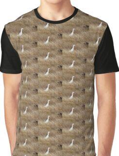 Cattle Egret Graphic T-Shirt