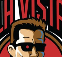 Time Travelers, Series 2 - The Terminator (Alternate 2) Sticker