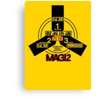 MAGI 2 Super-Computer System (NERV) - Evangelion  Canvas Print