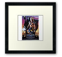 Masters of the Universe Framed Print