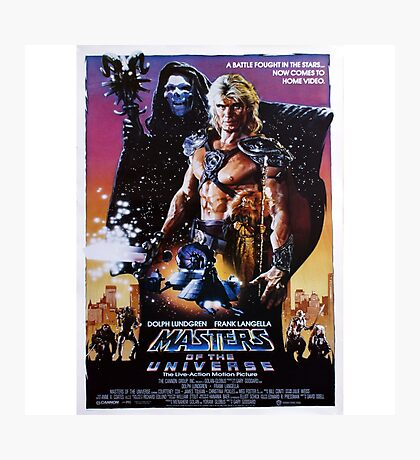 Masters of the Universe Photographic Print