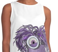 Purple Mandala Minion Monster Contrast Tank