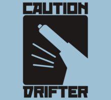 Caution Drifter (7) Baby Tee